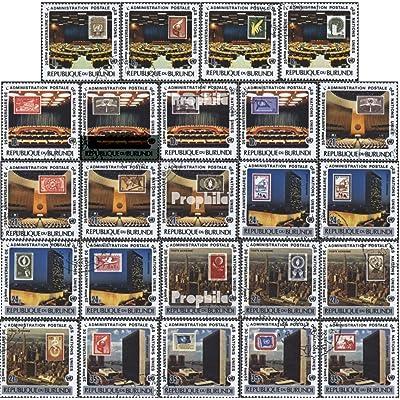 Burundi 1399A-1422A (complète.Edition.) 1977 25 j. administration postale le Nations unies (Timbres pour les collectionneurs)