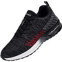 Zapatos de Seguridad Hombre,S1 Zapatillas de Seguridad con Punta de Acero Ultraligero Transpirables Zapatos de Trabajo