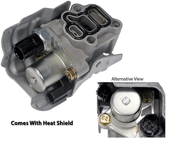 Spool Valve VTEC Solenoid Assembly with Timing Oil Pressure Switch and  Gasket for Honda CRV CR-V Civic Si Element Accord Acura RSX
