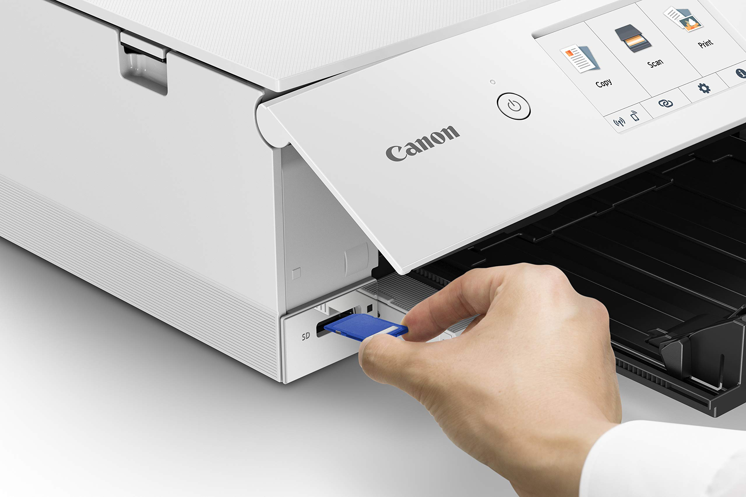 Canon TS8220 Wireless All in One Photo Printer with Scannier and Copier, Mobile Printing, White by Canon (Image #6)