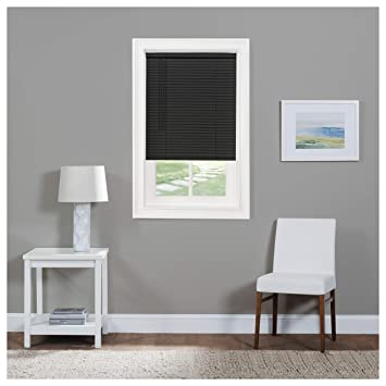 Classic Touch Cordless 1 Light Filtering Mini Blind White 17 Wide x 64 Long