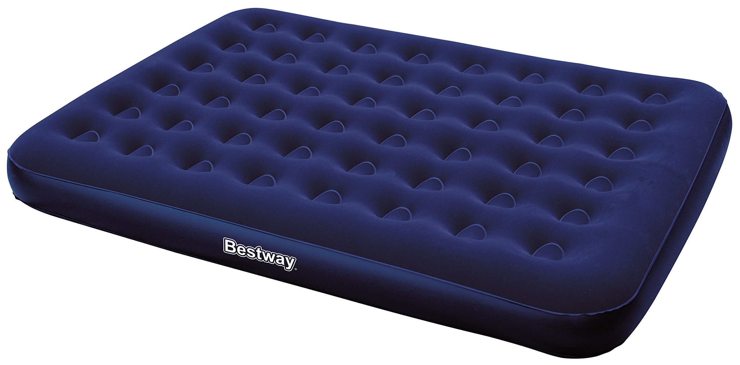 Bestway Flocked Queen Airbed without Inflation Pump, 80 x 60 x 8.5-Inch