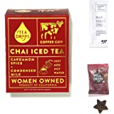 Sweetened Organic Loose Leaf Tea | Instant Chai Spice Tea Herbal Tea Drops and Sweetened Condensed Milk | Great Gift For…