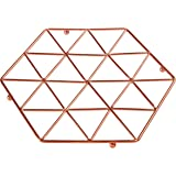 Premier Housewares Vertex Trivet, Copper