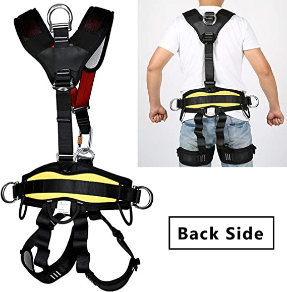 Arnés de seguridad de cuerpo completo Arnés de escalada al aire ...