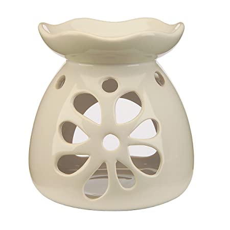 White flower ceramic wax melts oil burner wax lyrical home white flower ceramic wax melts oil burner wax lyrical home accessories mightylinksfo