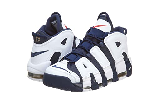 size 40 27822 333f1 Nike Air More Uptempo Olympic Scottie Pippen 8 Navy White Dream USA  414962-401