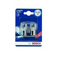 Bosch 1987301055 Autolampe P21/5W LONGLIFE - Stopp-/Blinklicht-/Schluss-/Kennzeichenlampe