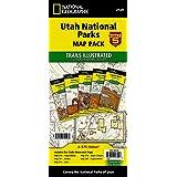 Utah National Parks [Map Pack Bundle] (National Geographic Trails Illustrated Map)