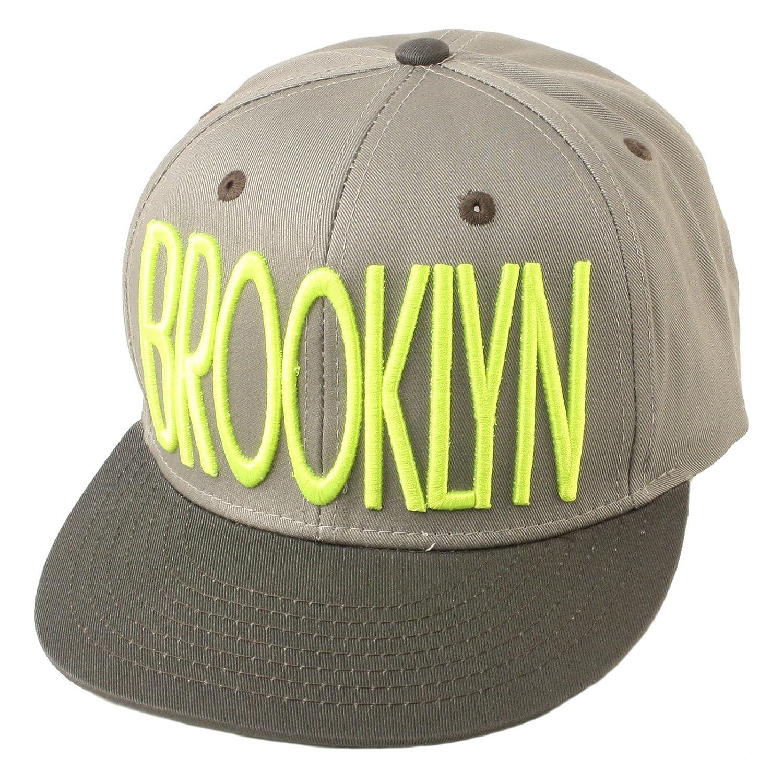 Cotton Brooklyn Under Visor Snapback Adjustable Baseball Cap Hat