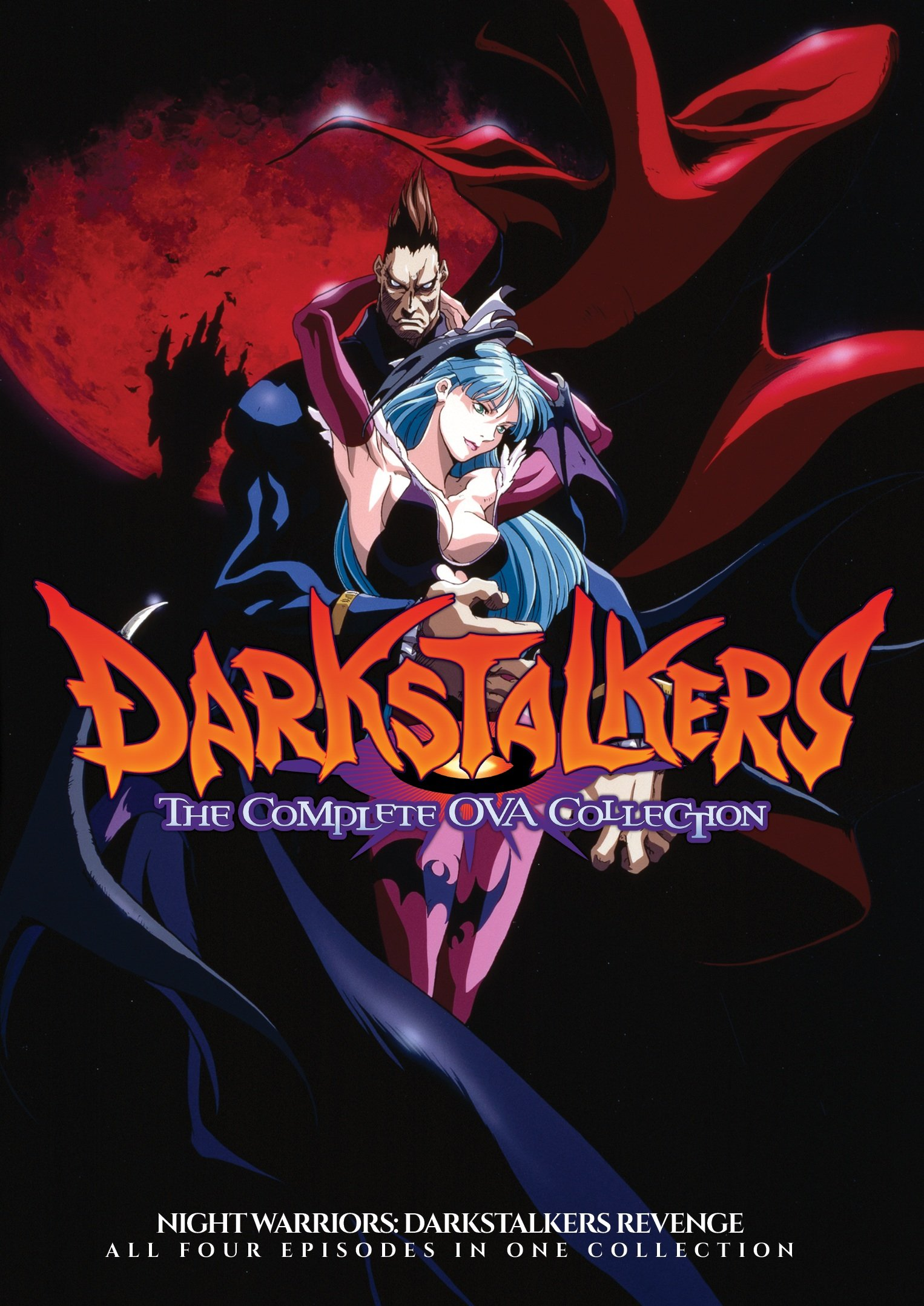 DVD : Night Warriors: Darkstalker's Revenge Ova Collection (2 Disc)