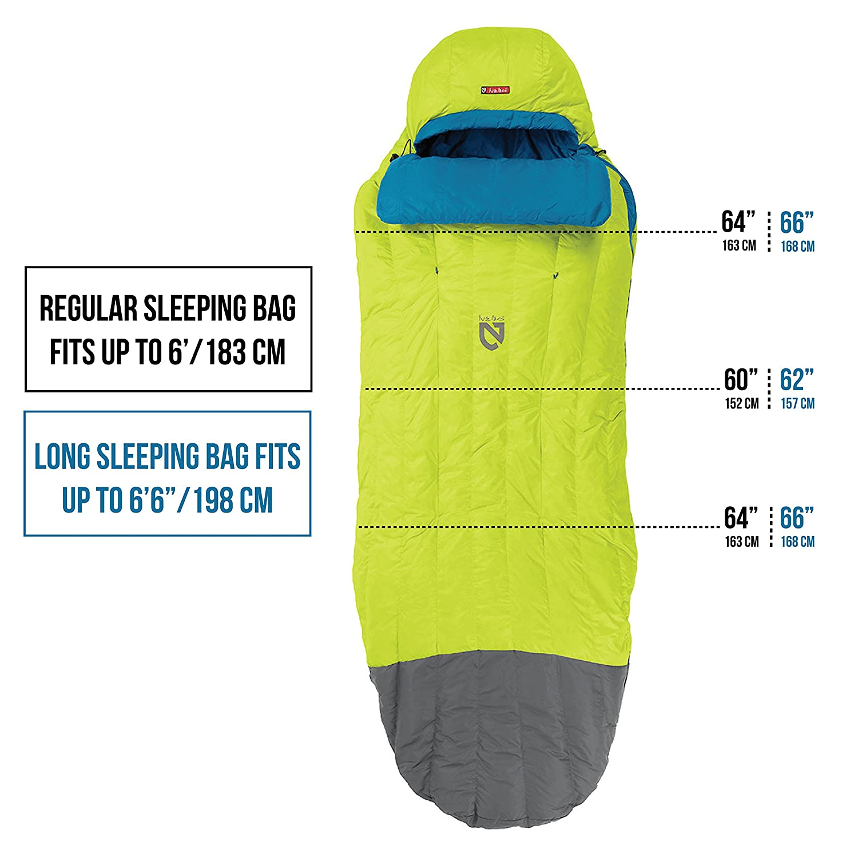 Nemo Mens Disco 30-Degree Insulated Down Sleeping Bag