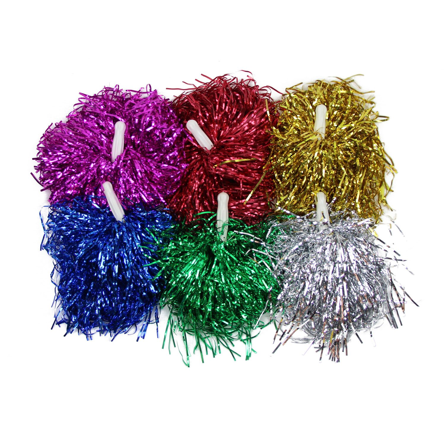 1 Pair Straight Handle Cheerleading Pom Poms, Price/2 Pieces, 0.025 ...