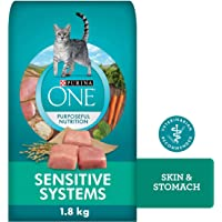 Purina ONE Dry Cat Food, Sensitive Systems 1.8 kg