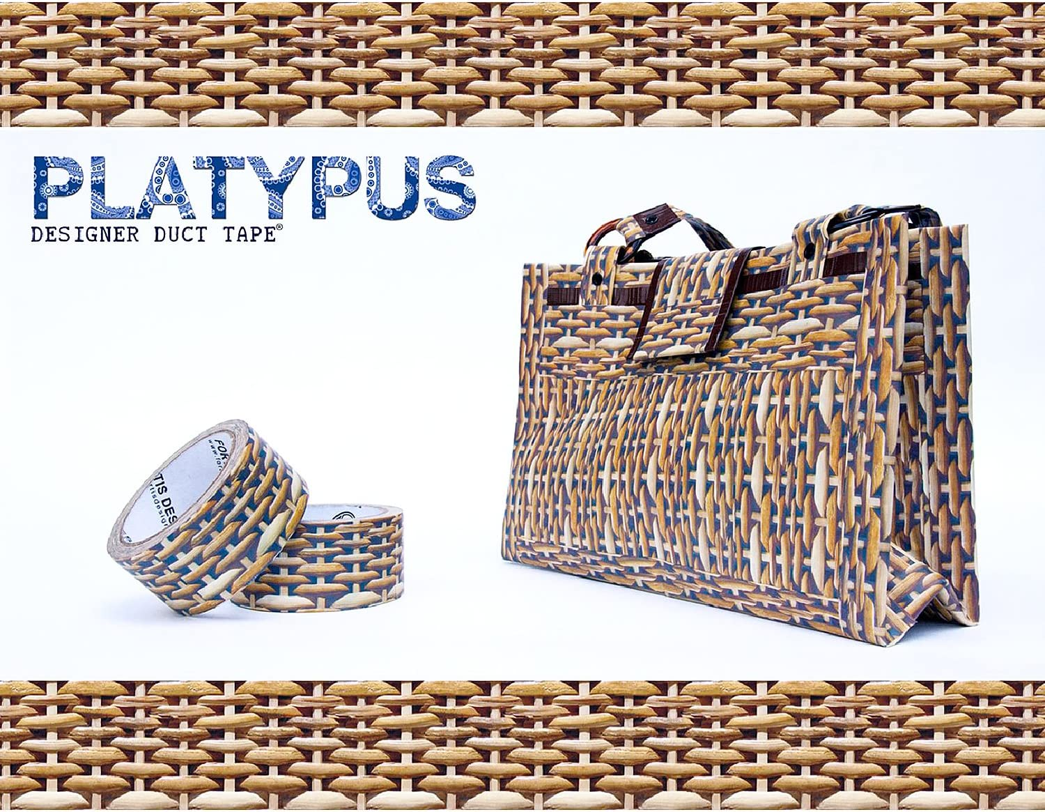 Real Leopard by Platypus Designer Duct Tape Platypus Designer Duct Tape