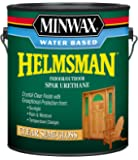 Minwax 710510000 Water Based Helmsman Spar Urethane, gallon, Semi-Gloss