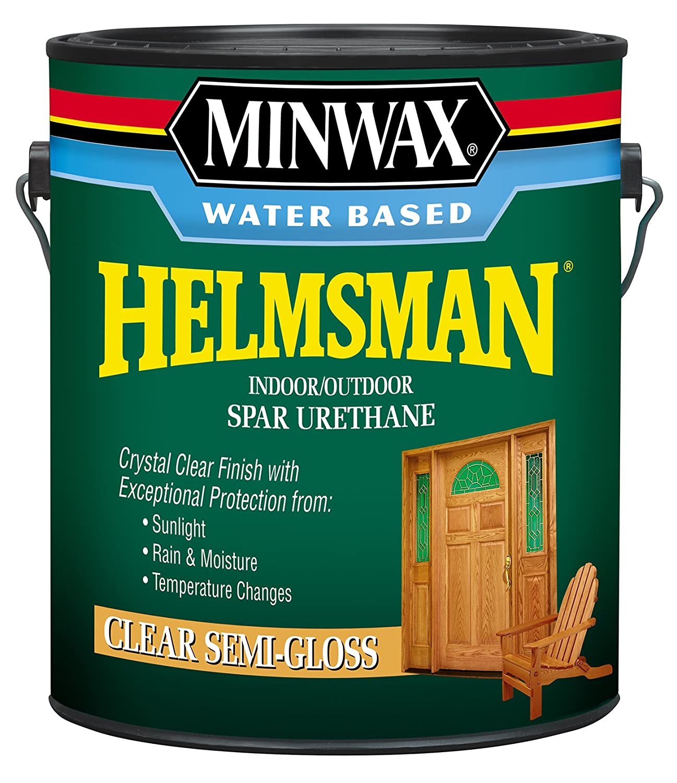 Minwax 132250000 Helmsman Indoor/Outdoor Spar Urethane 350 VOC, 1 gallon, Semi-Gloss Minwax Company