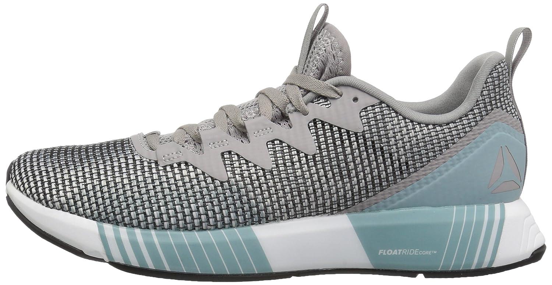 Reebok Women's Fusion Flexweave Sneaker B077V3KTC6 10.5 B(M) US|Skull Grey/Stark Grey/White