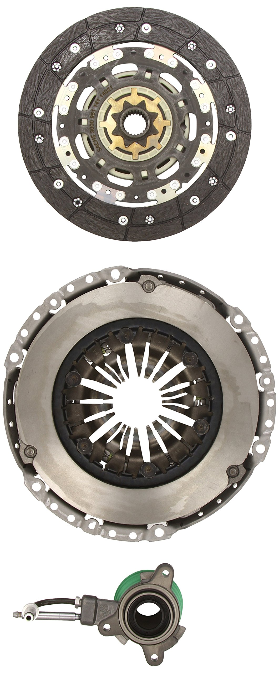 Sachs XTend 3000 990 113 Kit Plus Concentric Slave Cylinder CSC Clutch Cover