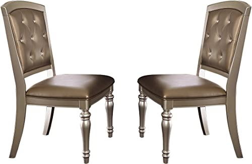 Homelegance Orsina Dining Chairs Luxurious Design