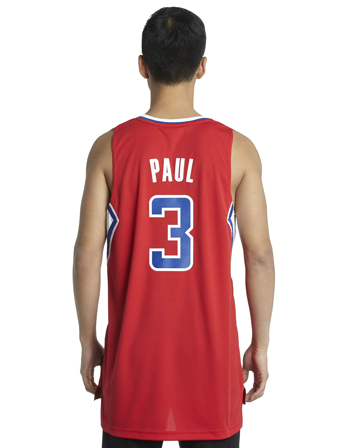De Color Rojo Jersey de NBA Los Angeles Clippers Chris Paul # 3, Hombre, Los Angeles Clippers: Amazon.es: Deportes y aire libre