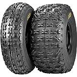ITP Holeshot XCT Tire - Rear - 22x11x9 , Position: Rear, Tire Size: 22x11x9, Rim Size: 9, Tire Ply: 6, Tire Type: ATV/UTV, Tire Construction: Bias, Tire Application: Sport 532038