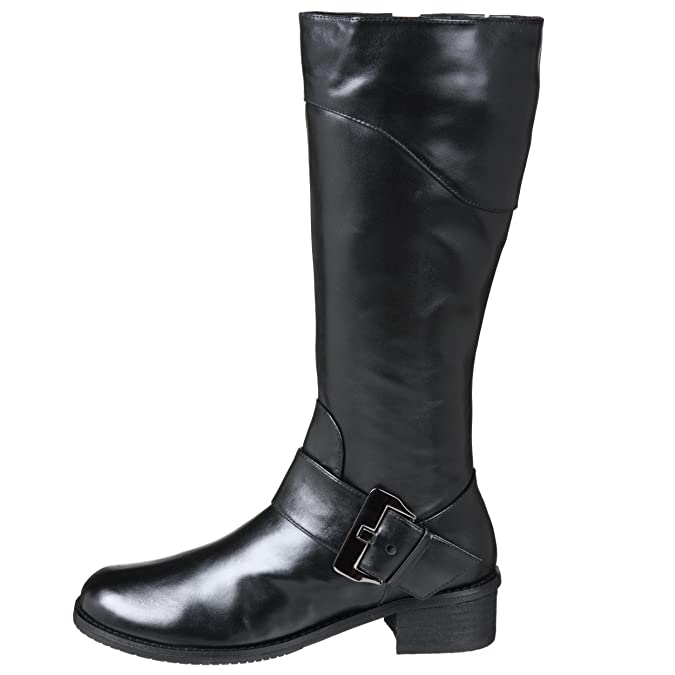 Amazon.com | Amiana Little Kid/Big Kid 15/A0347 Boot, Black calf leather, 13 M US Little Kid | Boots