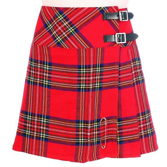 The Scotland Kilt Company Nuevo de Mujer Royal Stewart de Cuadros ...