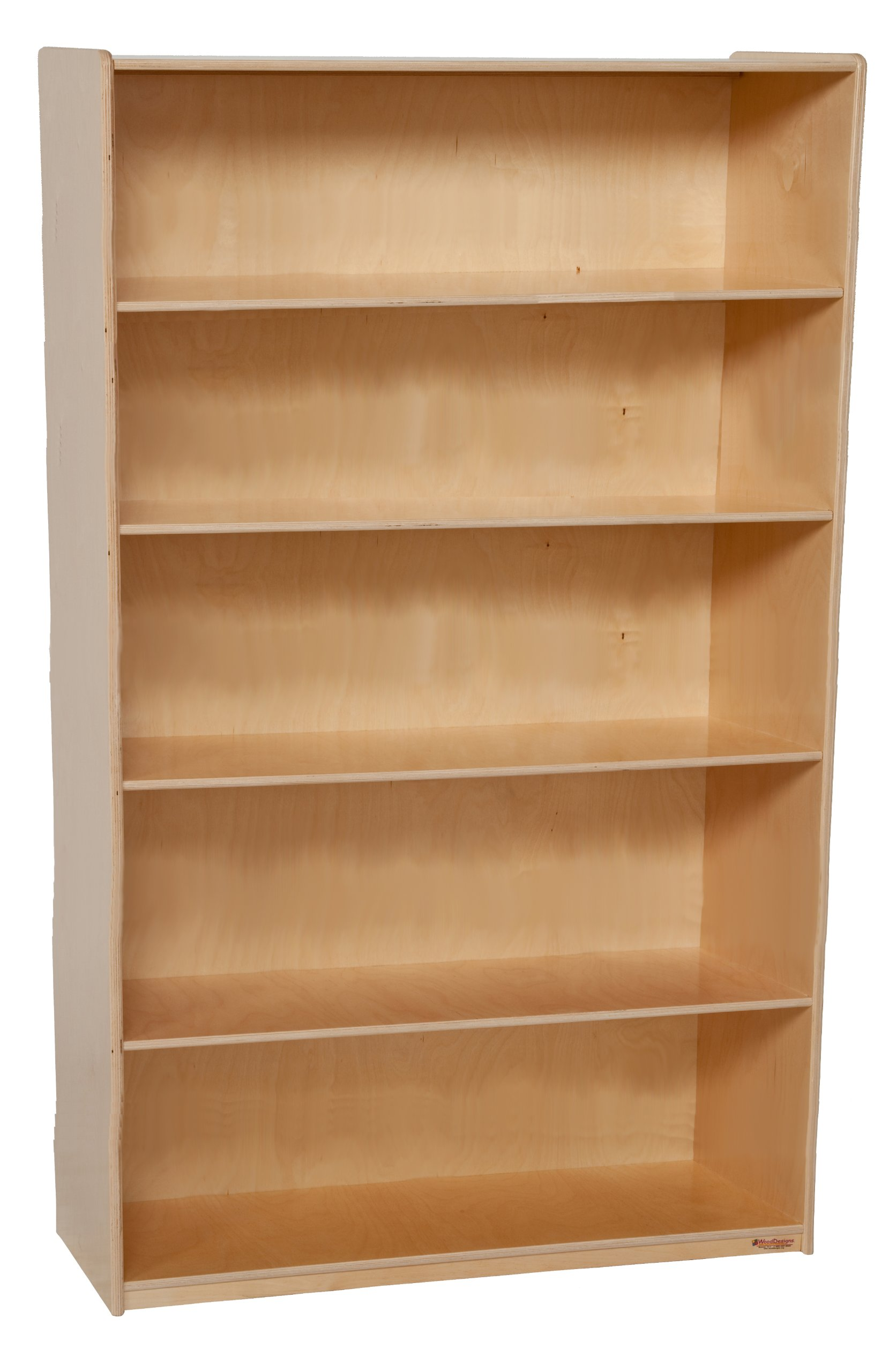 Wood Designs WD13260 X-Deep Bookshelf, 60 x 36 x 18'' (H x W x D)