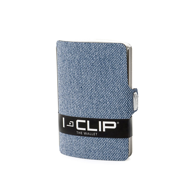 I-CLIP Jeans Look Slim Wallet (blue) I-CLIP Jeans-Optik