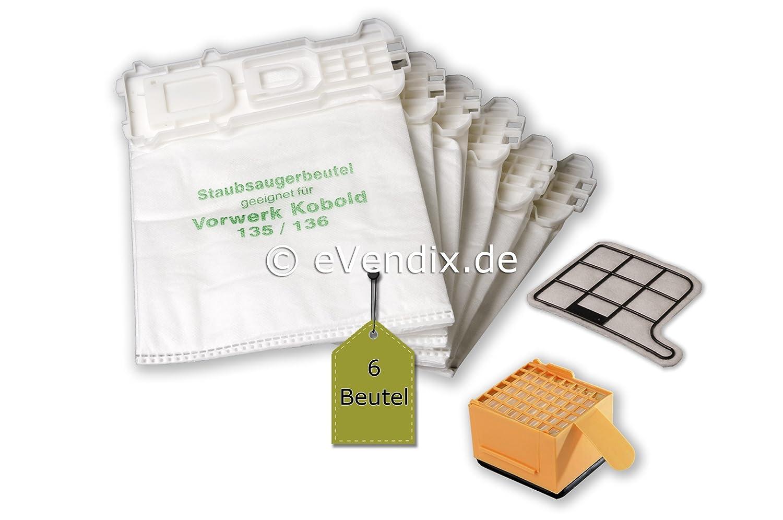 Filterset 24 Duft 24 Staubsaugerbeutel geeignet Vorwerk Kobold 135 136