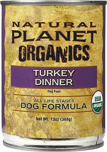 Natural Planet Organics Turkey Wet Dog Food 13-oz