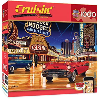 MasterPieces Cruisin' Route 66 Jigsaw Puzzle, Gamblin' Man, Featuring Art by Hiroaki Shioya, 1000 Pieces: Toys & Games
