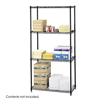 Amazon.com: Safco Products 5276BL Commercial Wire Shelving 36\