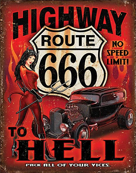 Amazon.com: RT 666-highway to Hell: Home & Kitchen