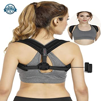 ac918b441 Amazon.com  Posture Corrector for Women Men