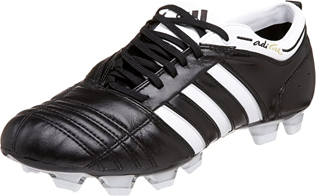 mecanismo electo cantidad  Amazon.com | adidas Men's Adipure II TRX Firm Ground Soccer Cleat,  Black/White/Gold, 13 M | Soccer