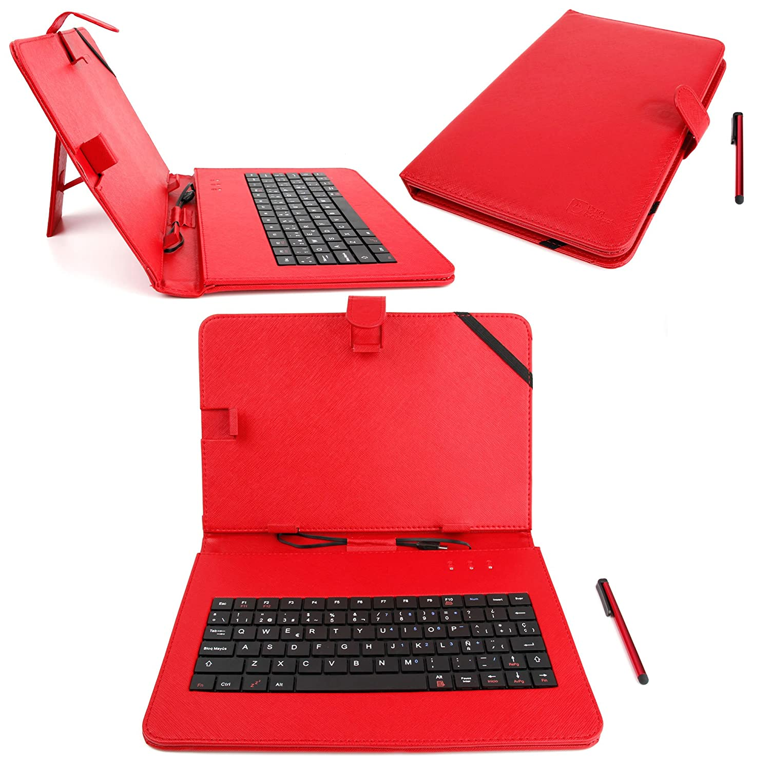 Amazon.com: DURAGADGET Spanish (ES) QWERTY Keyboard 10