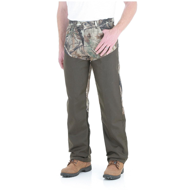 36bf929cc0ad0 Wrangler Men's Progear Upland Jean, Realtree with Dark Brown, 40x34:  Amazon.com.au: Fashion
