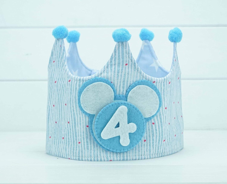 Corona Cumpleaños Mickey: Amazon.es: Handmade
