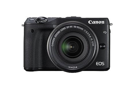 Canon EOS M3 - Cámara réflex Digital de 24.7 MP (Pantalla táctil 3