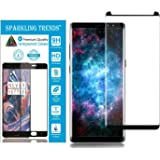 Sparkling Trends™ Premium Case Friendly 3D Tempered Glass Screen Protector for Samsung Galaxy Note 8 Black