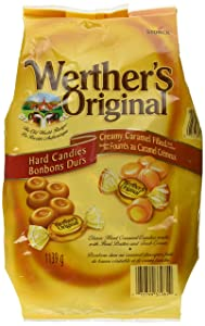 Werther's Original Hard Candy and Creamy Caramel Filled Candy, 1139gram