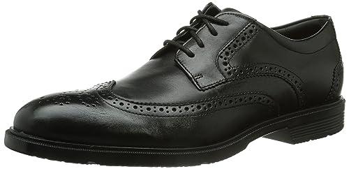 489406884a881 Rockport Men s City Smart Wingtip Shoes - Black Leather