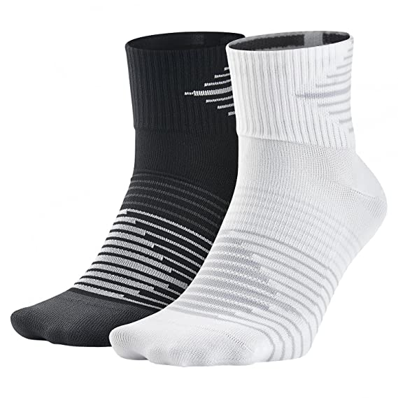 Nike 2ppk Running Dri-fit Ligh Pack 2 Pares Calcetines, Hombre