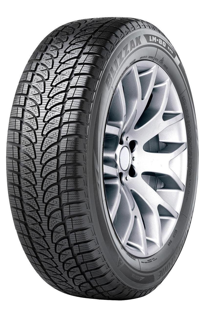 Bridgestone Blizzak LM-80 Evo - 235/55/R19 105V - C/C/72 - Winter Tire (4x4) Bridgestone Tires
