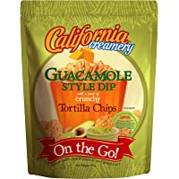 California Creamery On-The-Go Guacamole Style Dip and Tortilla Chips Combo, 285g