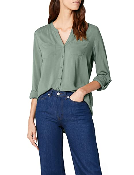 ONLY Damen Onlfirst Ls Pocket Shirt Noos WVN Bluse
