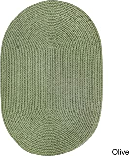 product image for Rhody Rug Venice Indoor/Outdoor Oval Rug by (3' x 5') Olive