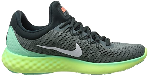 63e0a3e7f6d9 Nike Men Lunar Skyelux Running Shoe - Hasta HASTA WHITE-SEAWEED-GREEN GLOW  10 D(M) US  Buy Online at Low Prices in India - Amazon.in